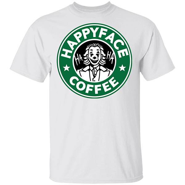 Pop-Up Tee: Happy Face Coffee
