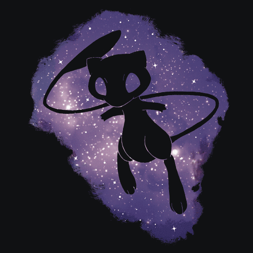 Textual Tees: Mew in Space