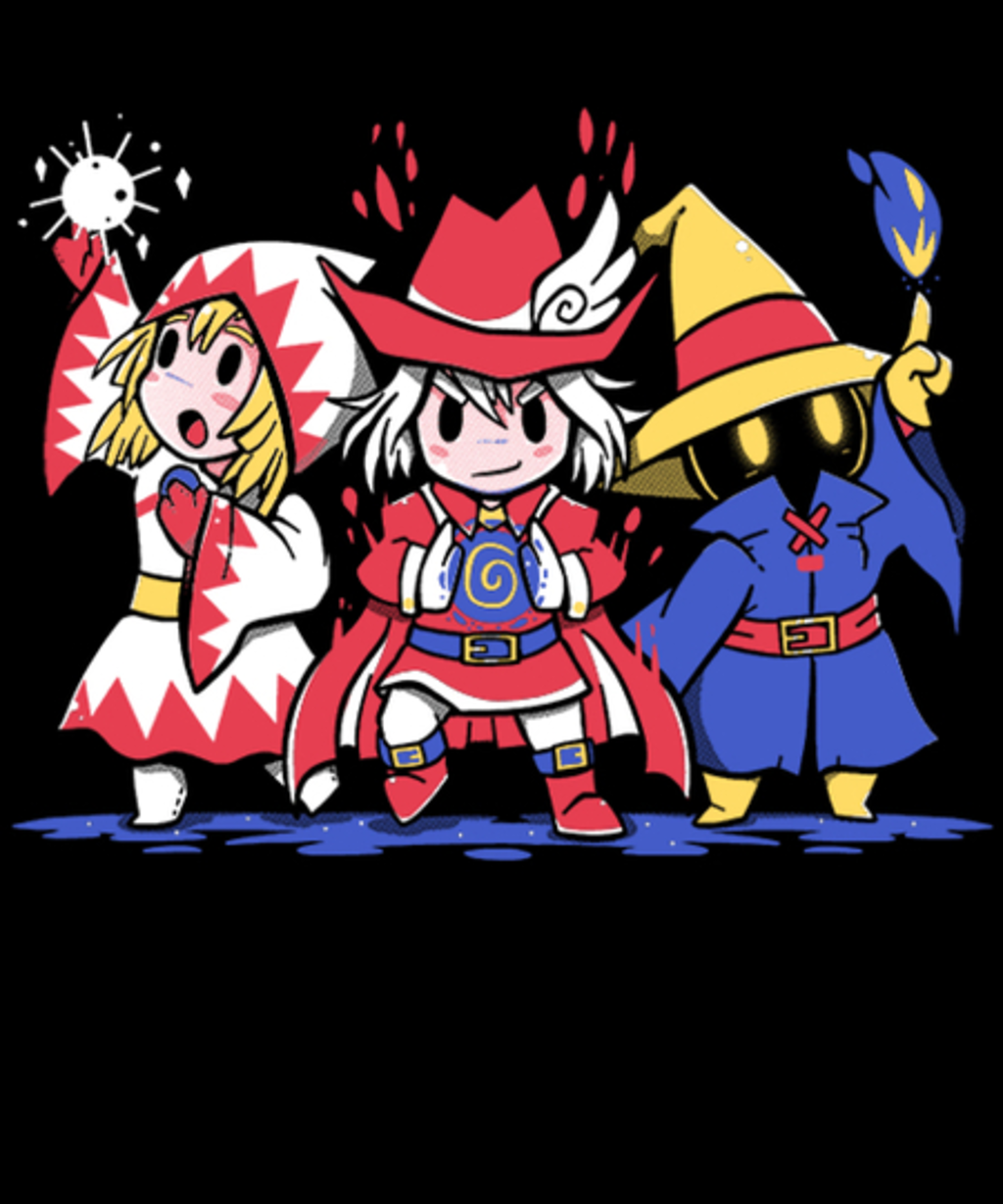 Qwertee: The Three Mages