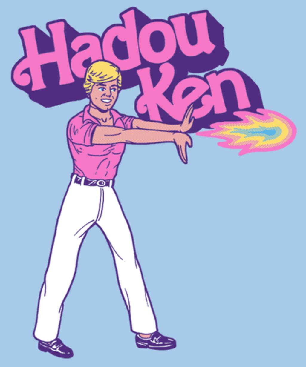 Qwertee: Hadou-Ken