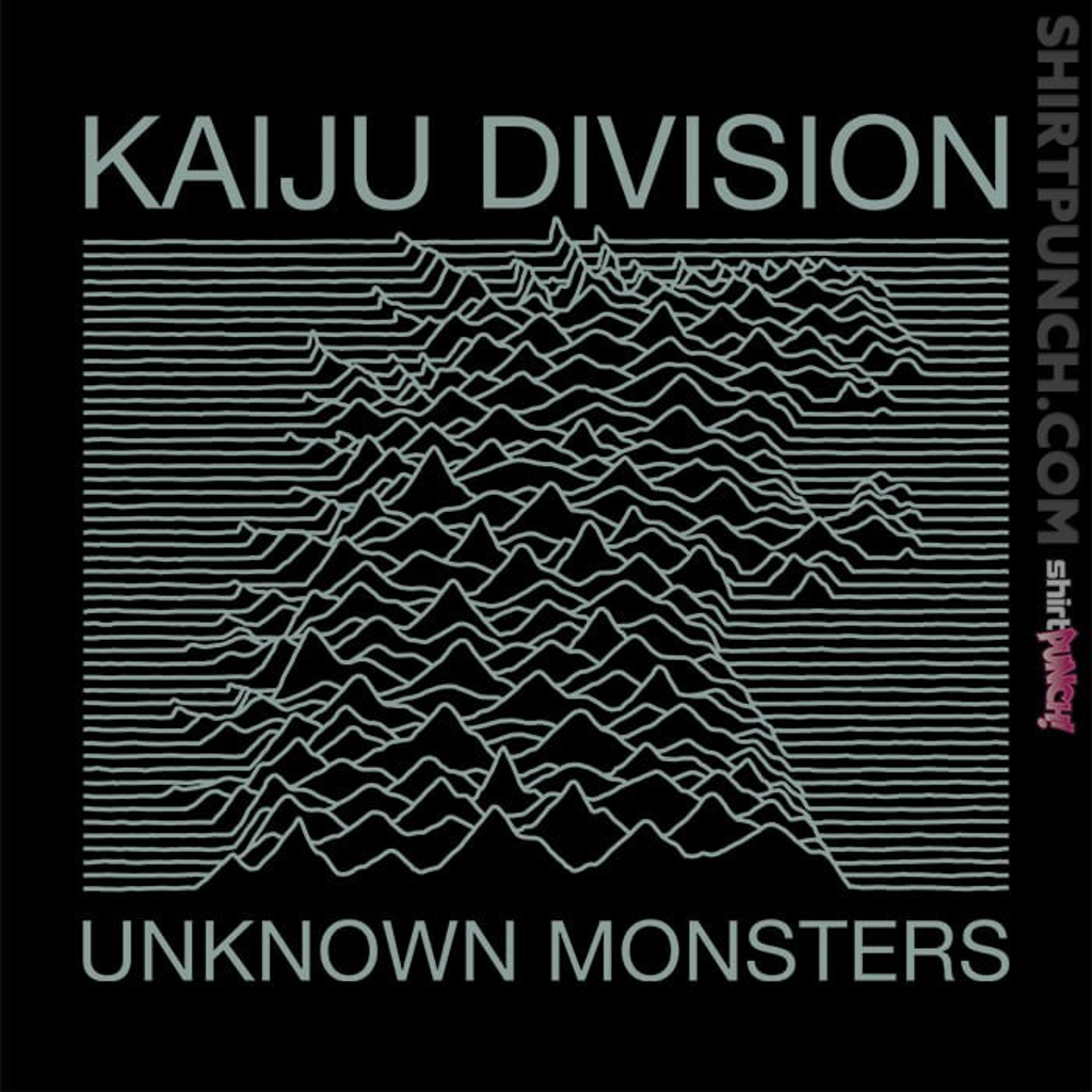 ShirtPunch: Unknown Monsters