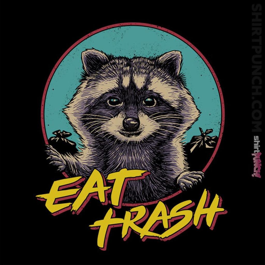 ShirtPunch: Eat Trash