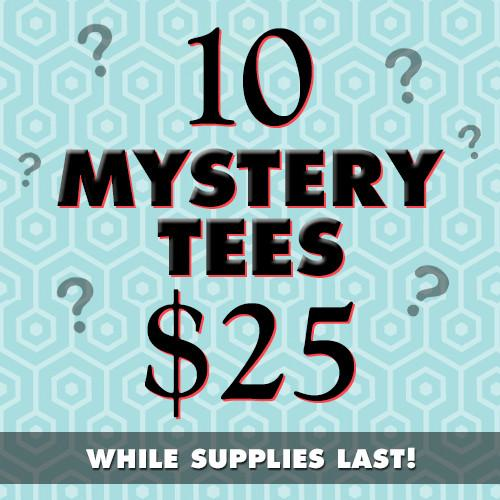 Five Finger Tees: 10 Mystery Tees!