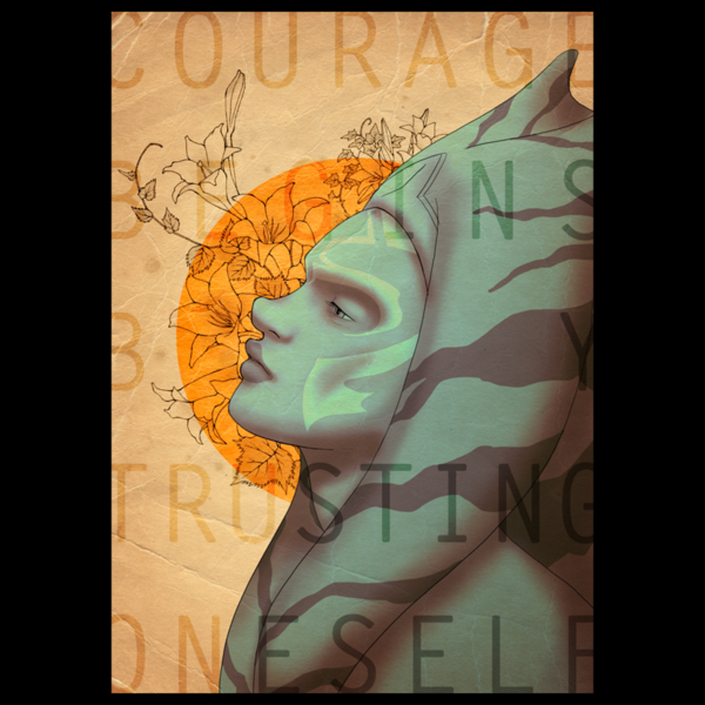 NeatoShop: Courage begins by trusting oneself