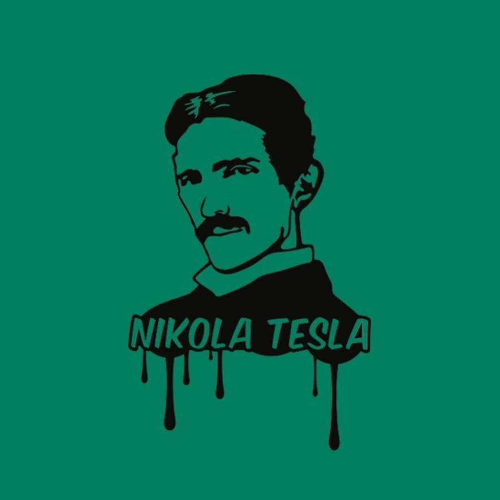 BustedTees: Nikola Tesla Tshirt