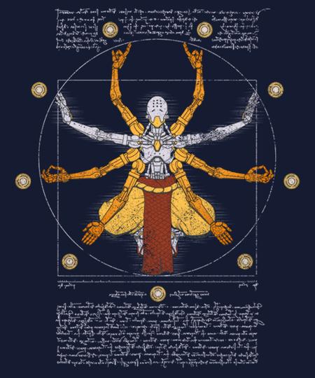 Qwertee: Vitruvian Omnic