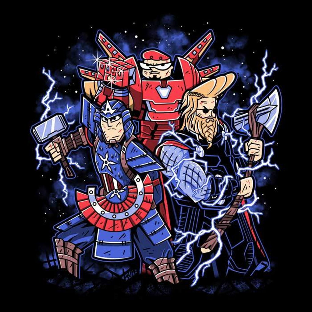 Once Upon a Tee: Toonvengers Trinity