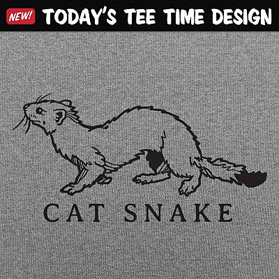 6 Dollar Shirts: Cat Snake
