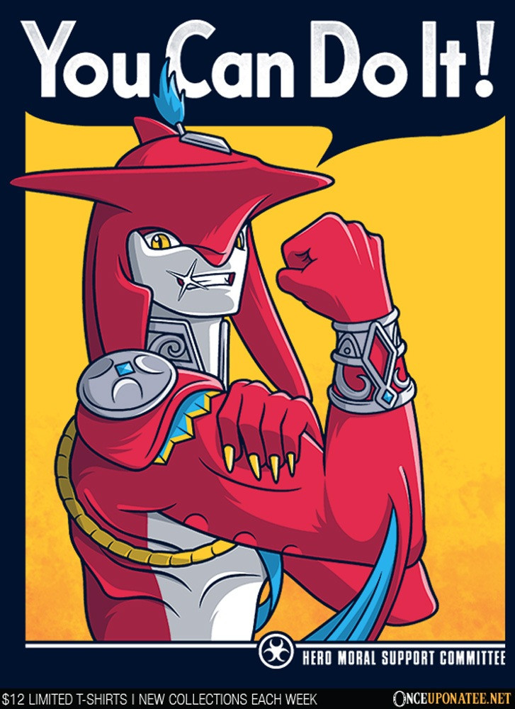 Once Upon a Tee: Supportive Shark Man