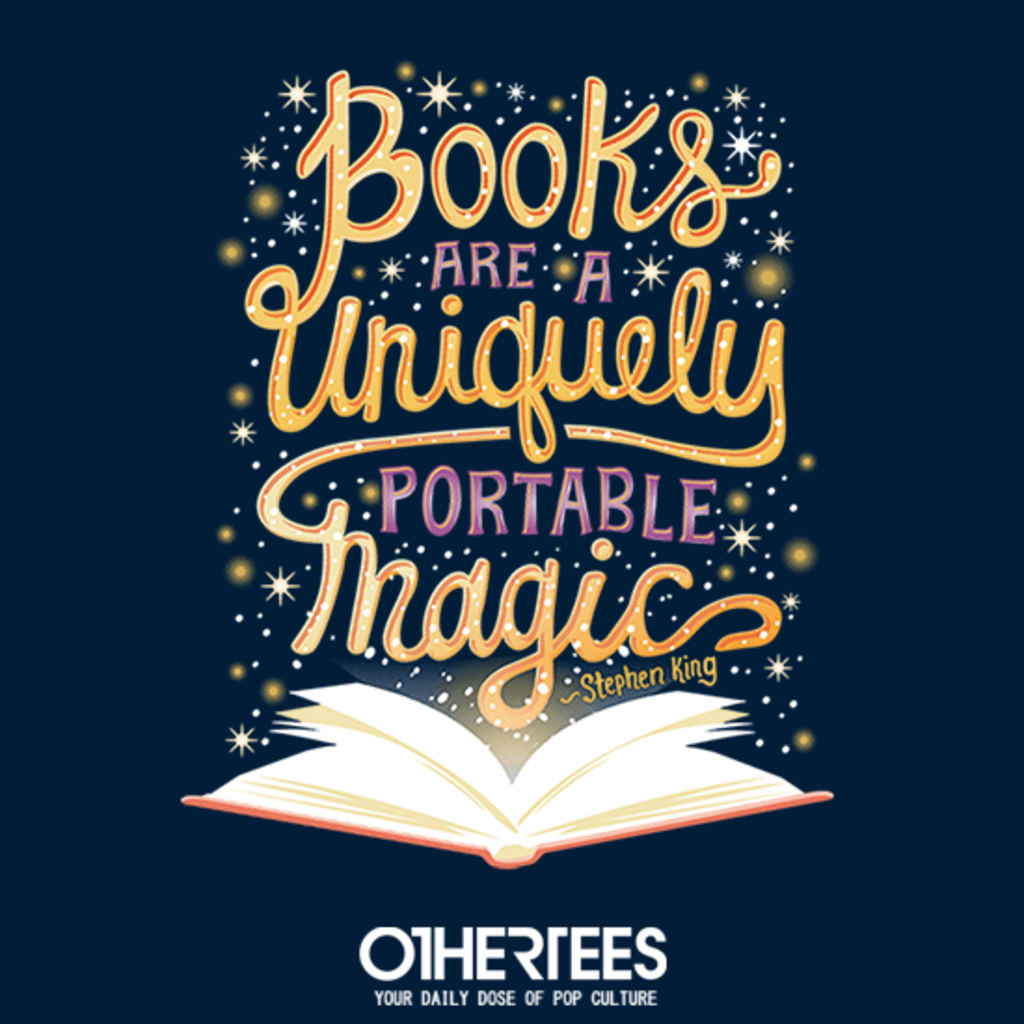 OtherTees: Books are Magic