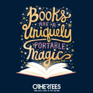 OtherTees: Books are Magic