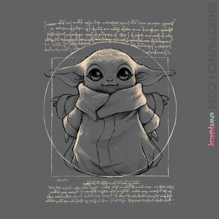 ShirtPunch: Vitruvian Baby Yoda