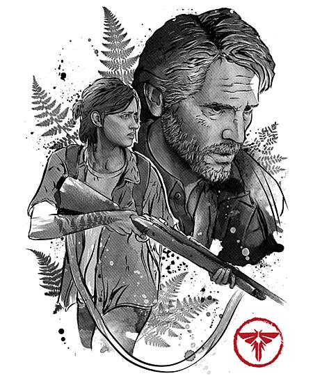 Qwertee: Joel and Ellie