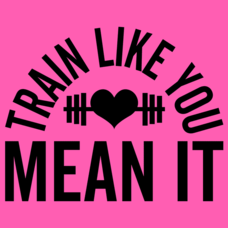 Textual Tees: Train Like You Mean It