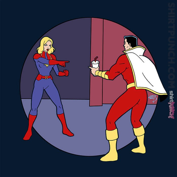 ShirtPunch: The Marvelous Captains
