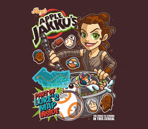 TeeFury: Apple Jakku's