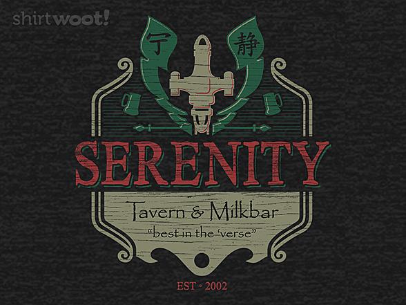 Woot!: Serenity Tavern