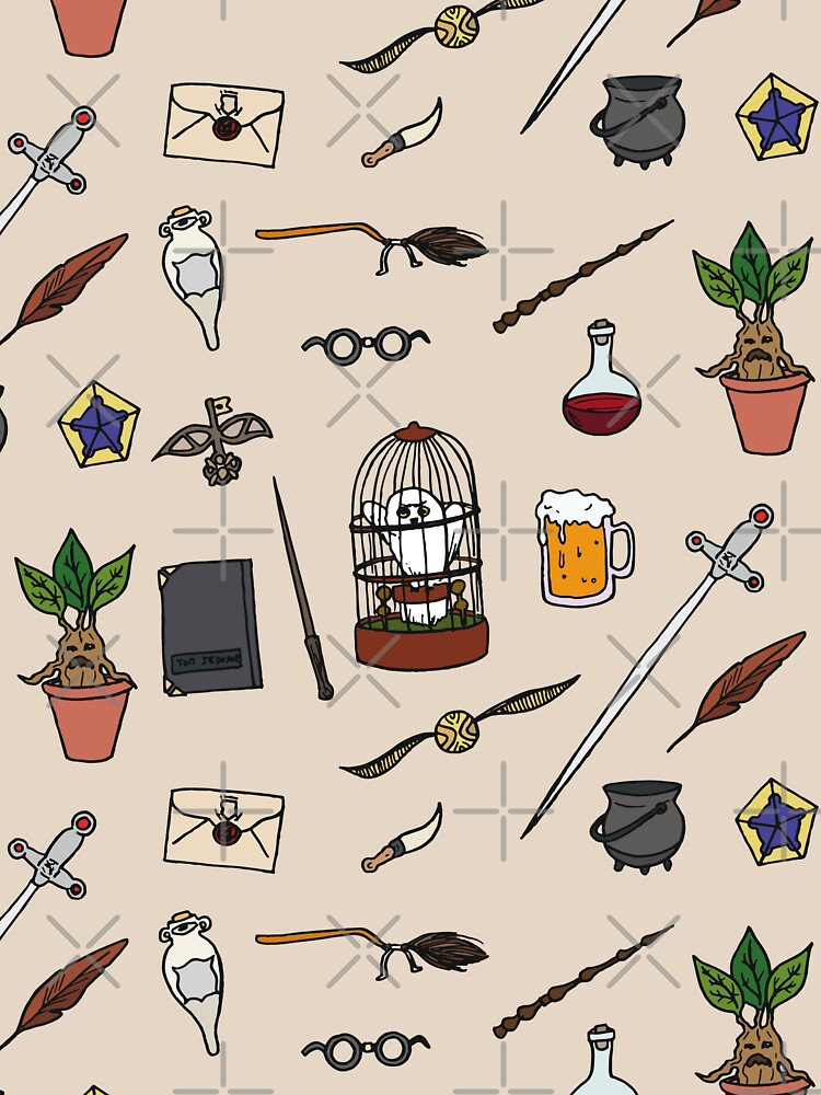 RedBubble: Owl and wand