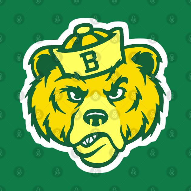 TeePublic: Vintage Style Bear Mascot