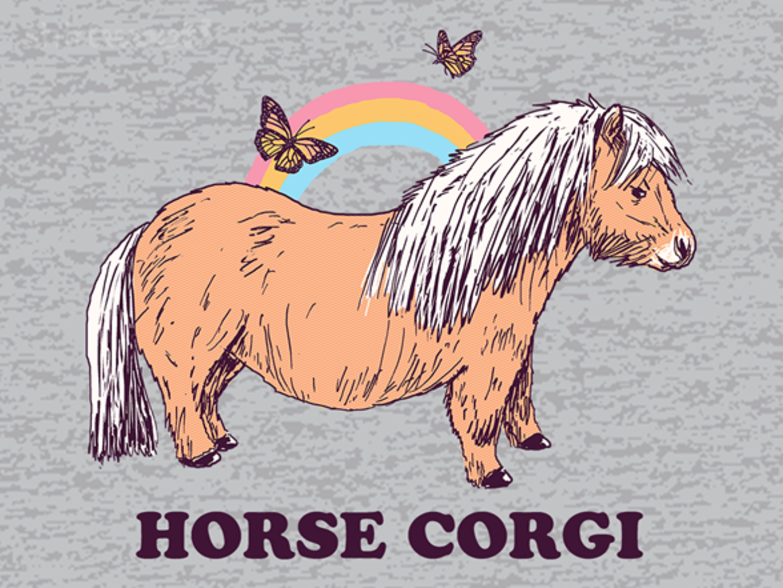 Woot!: Horse Corgi