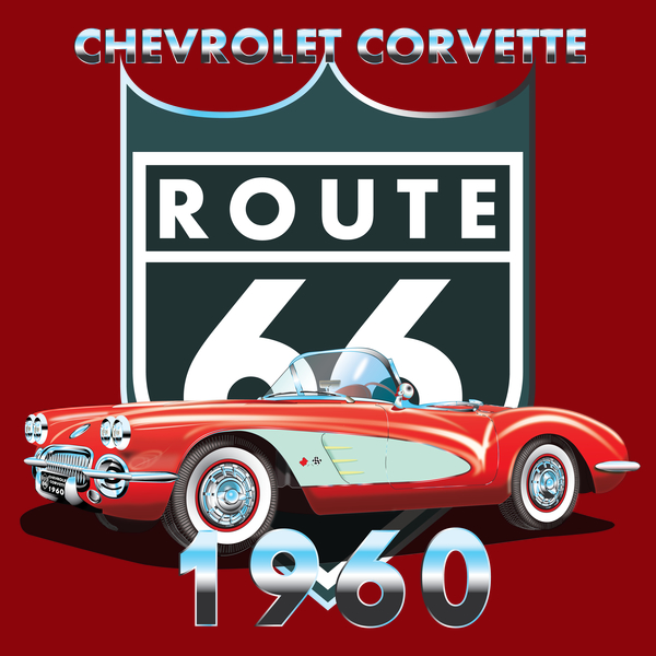 NeatoShop: CHEVROLET CORVETTE 1960