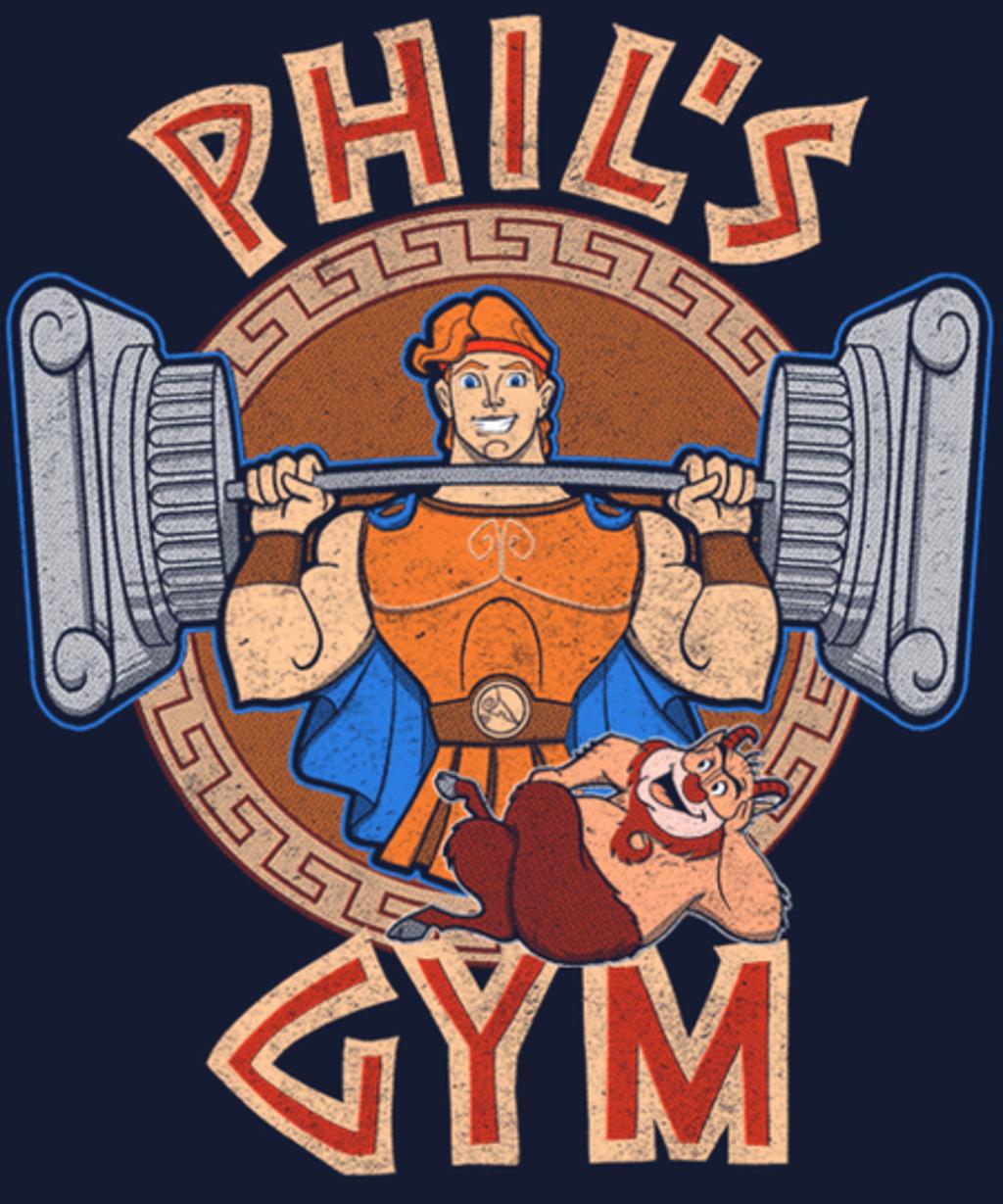 Qwertee: Phil's Gym