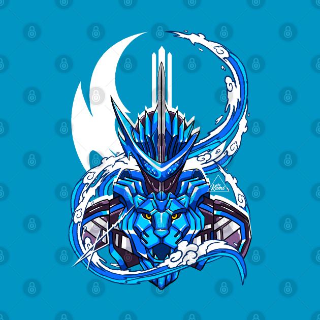 TeePublic: Blades of Lion Senki