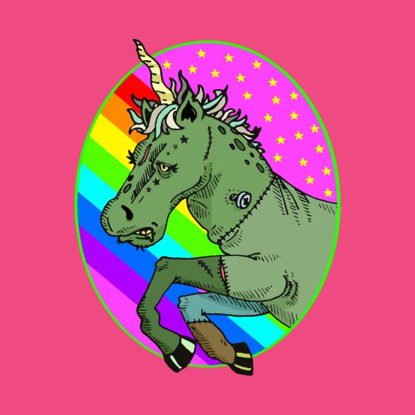 TeePublic: Lisa Frankenstein: Unicorn
