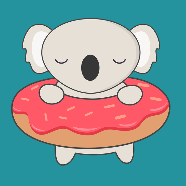 NeatoShop: My Donut has a kawaii cute koala