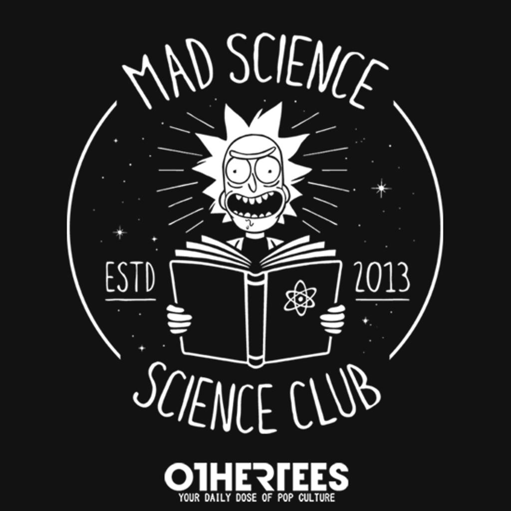 OtherTees: Mad Science Club