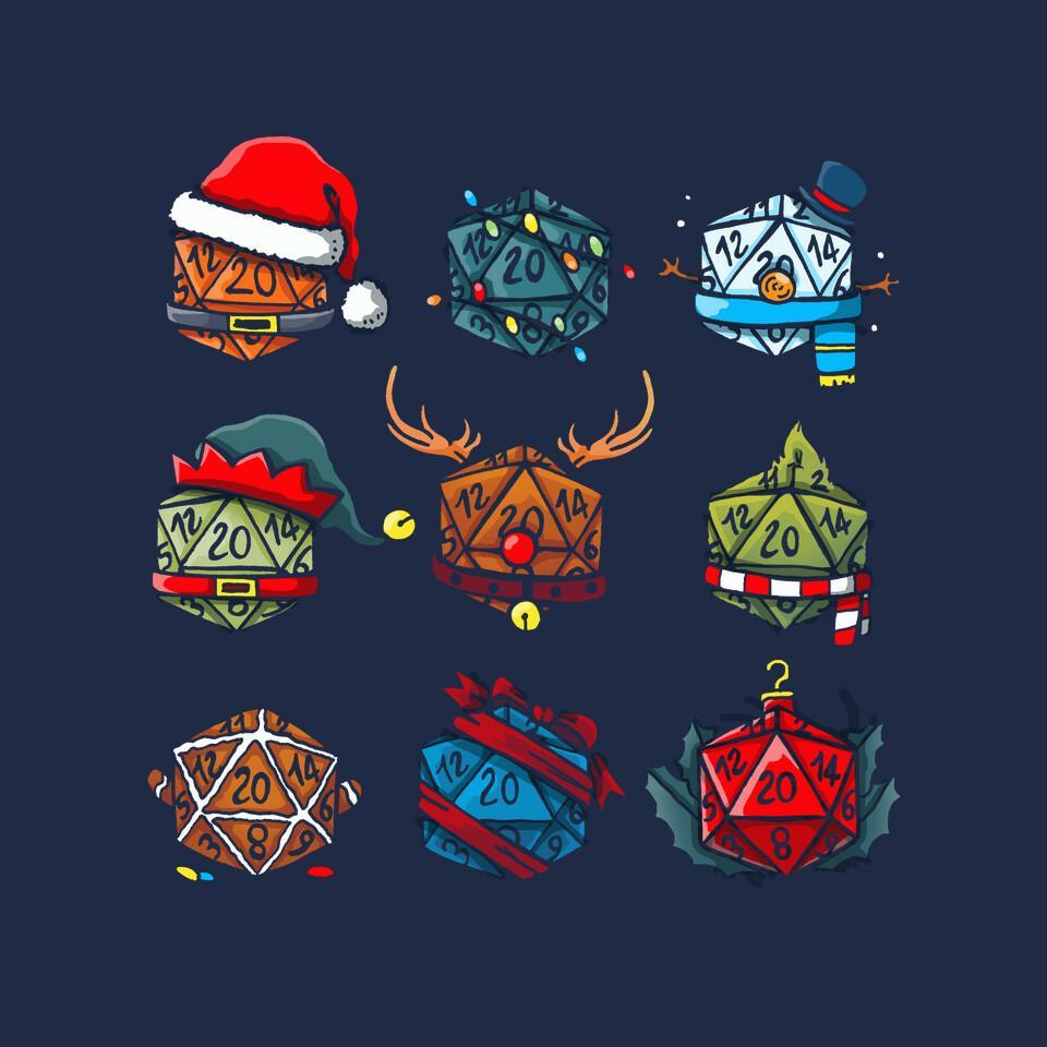 TeeFury: Christmas Dice
