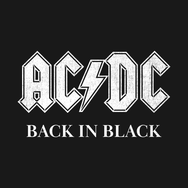 TeePublic: AC DC Back in Black