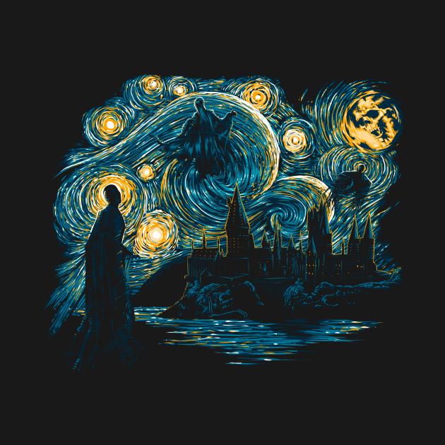 TeePublic: Starry Dementors