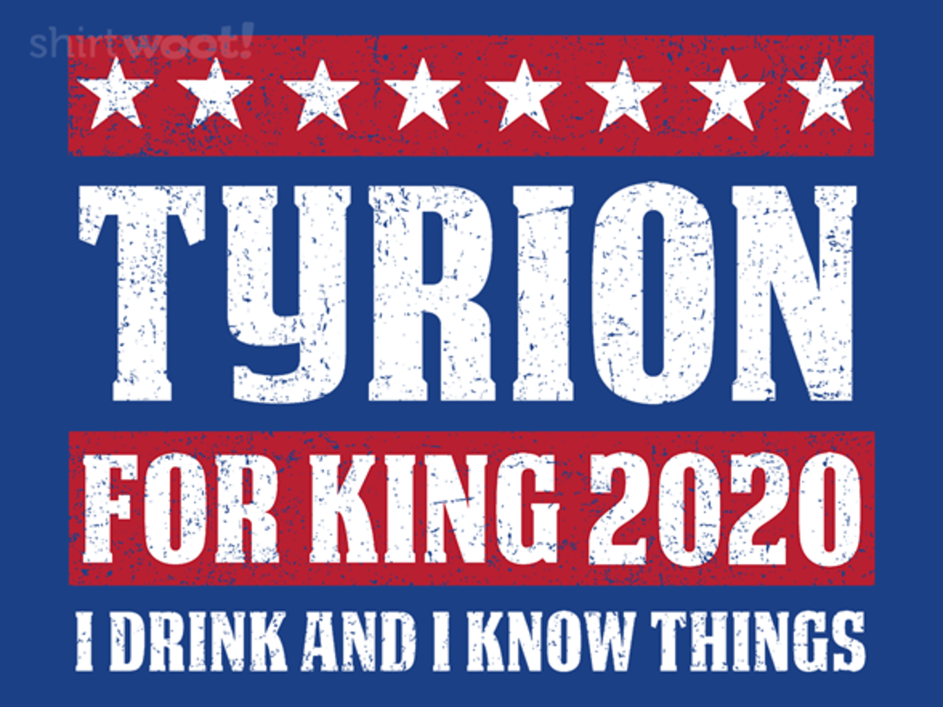 Woot!: Tyrion 2020