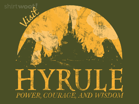 Woot!: Hyrule Tourist