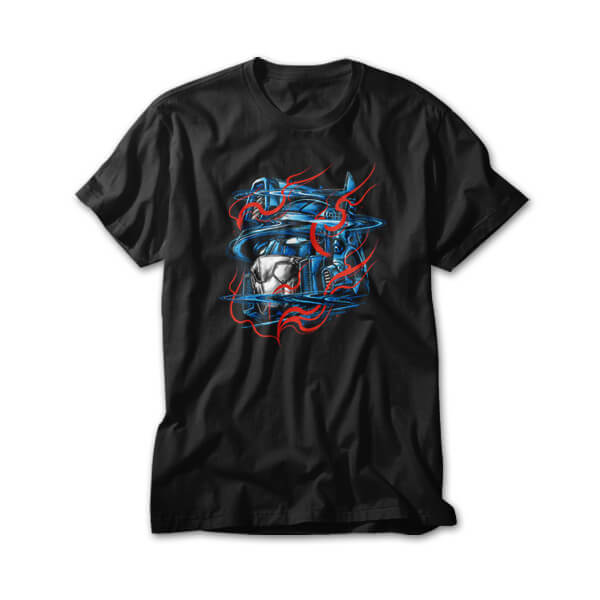 OtherTees: Glitchy Flames