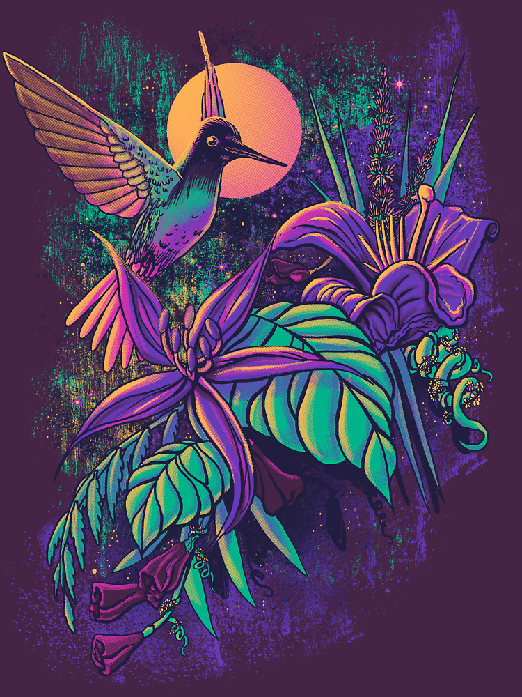 RedBubble: Purple Garden