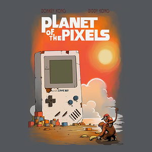 TeeFury: Planet of the Pixels