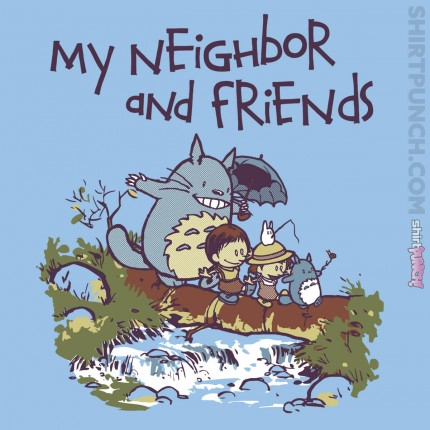 ShirtPunch: My Neighbor and Friends