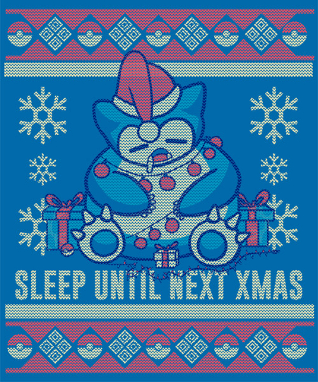 Qwertee: Sleep until next Christmas!