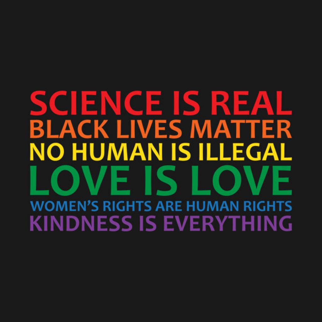 TeePublic: Human Rights & World Truths