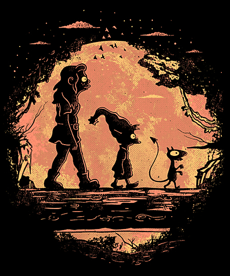 Qwertee: Friends in the jungle