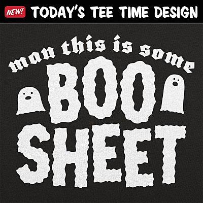 6 Dollar Shirts: Boo Sheet