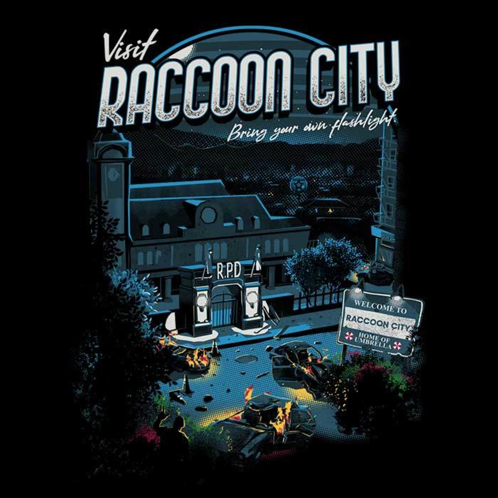Once Upon a Tee: Visit Raccoon City