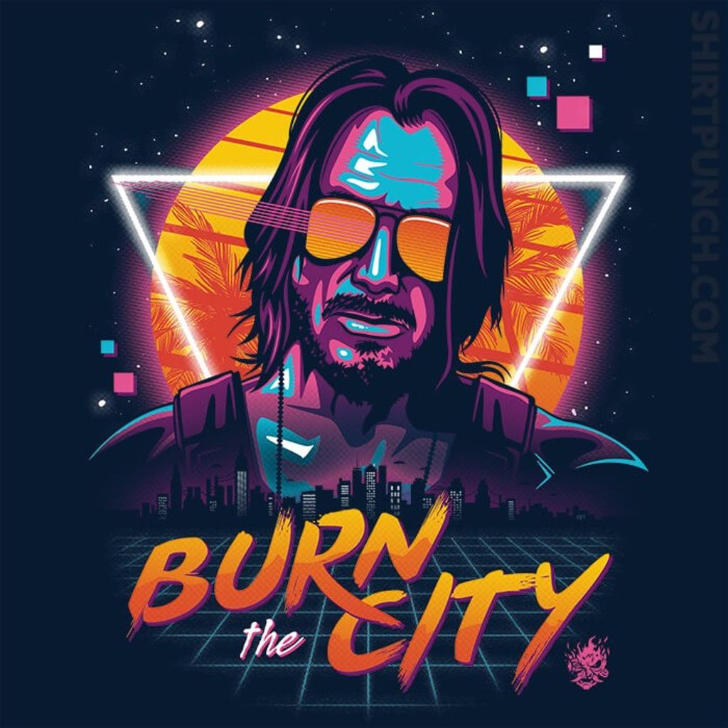 ShirtPunch: Burn The City