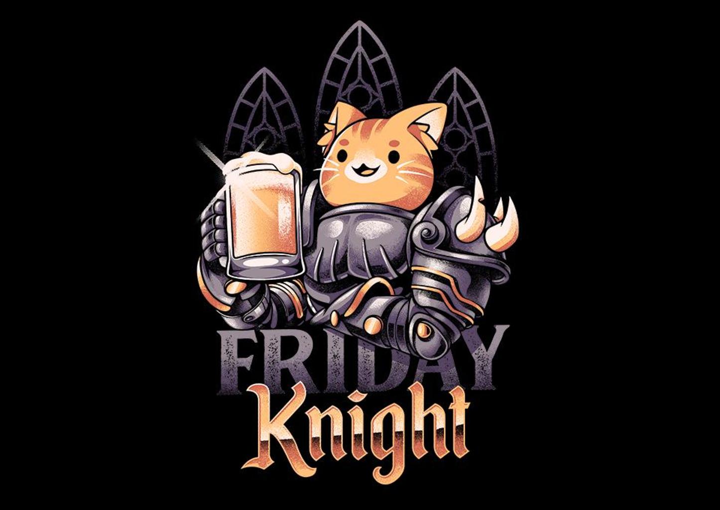 TeeFury: Friday Knight