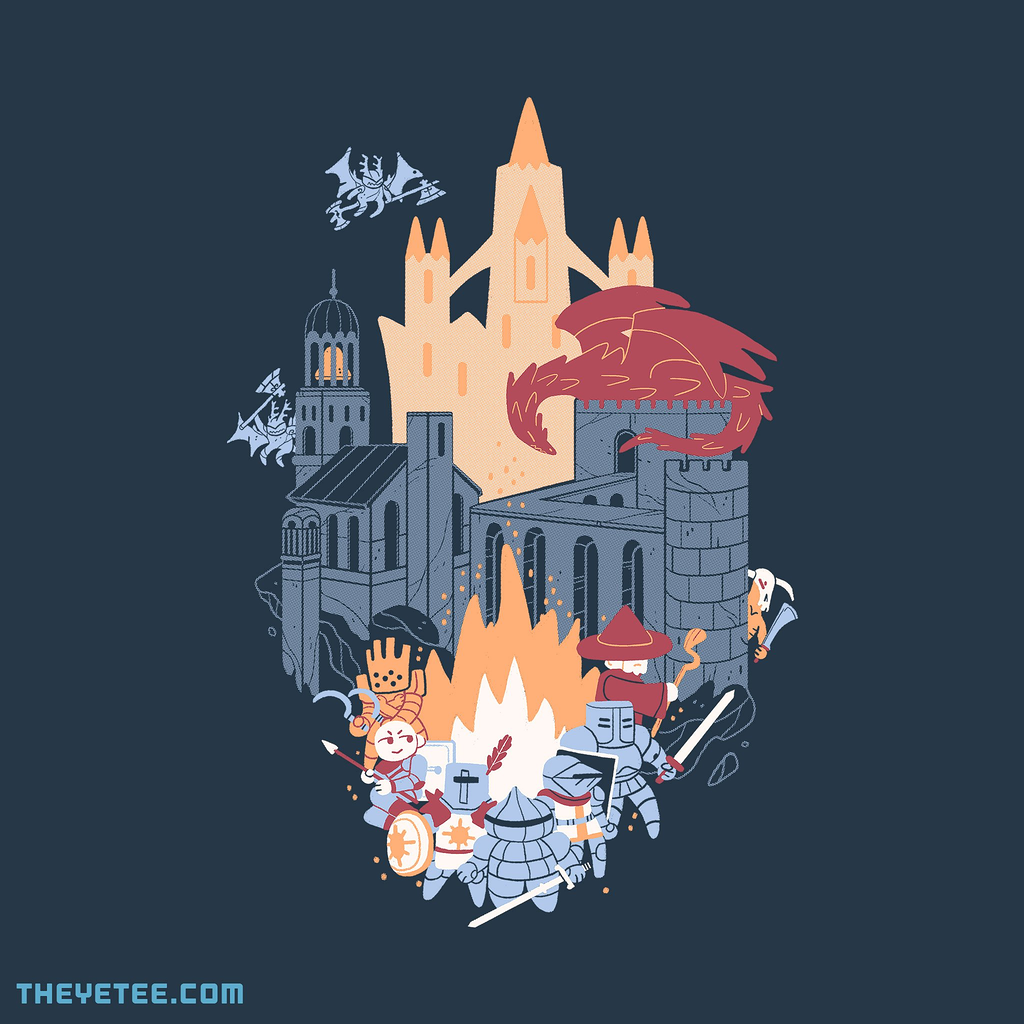 The Yetee: Jolly Undead Outcasts