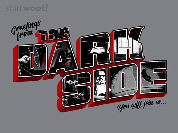 Woot!: Greetings from The Dark Side - $8.00 + $5 standard shipping