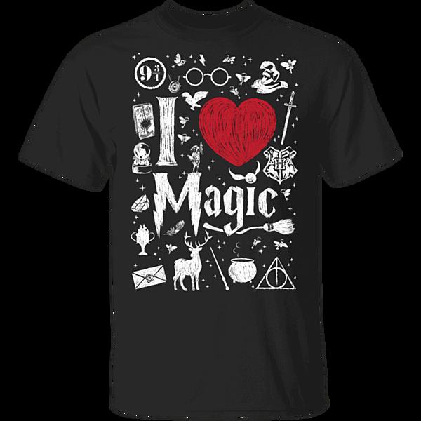 Pop-Up Tee: I Love Magic