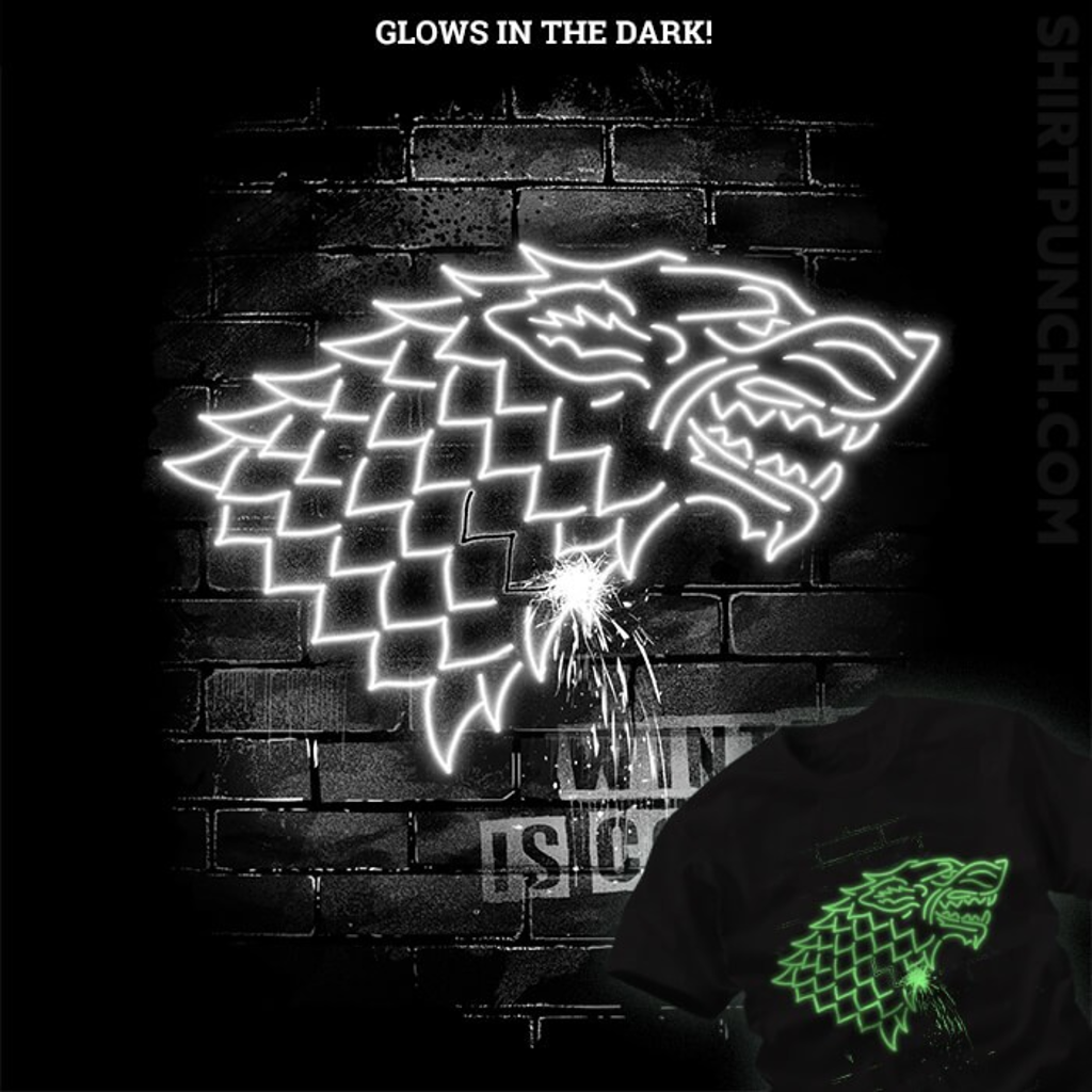 ShirtPunch: Neon Wolf